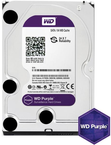 Western Digital 6Tb 64Mb SATA3 WD Purple