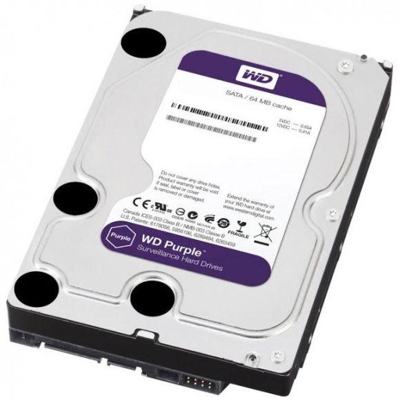 Western Digital 4Tb 64Mb SATA3 WD Purple